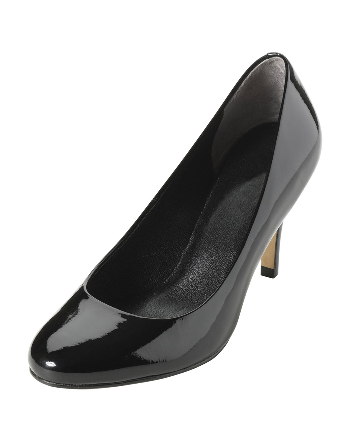 85704280aedb Lyst - Cole Haan Air Lainey Patent Leather Pump Black in Black