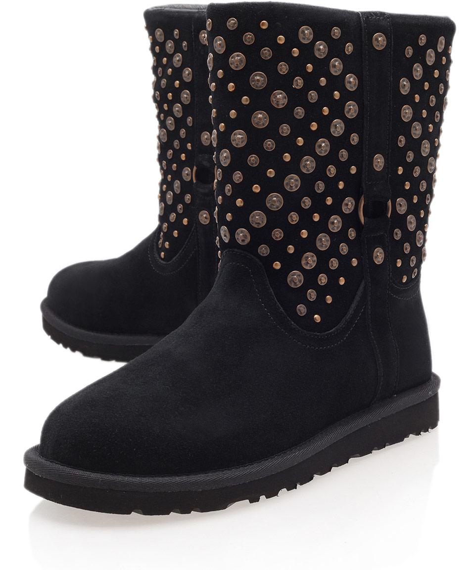 black studded ugg boots
