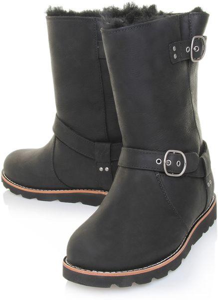 ugg noira boots black