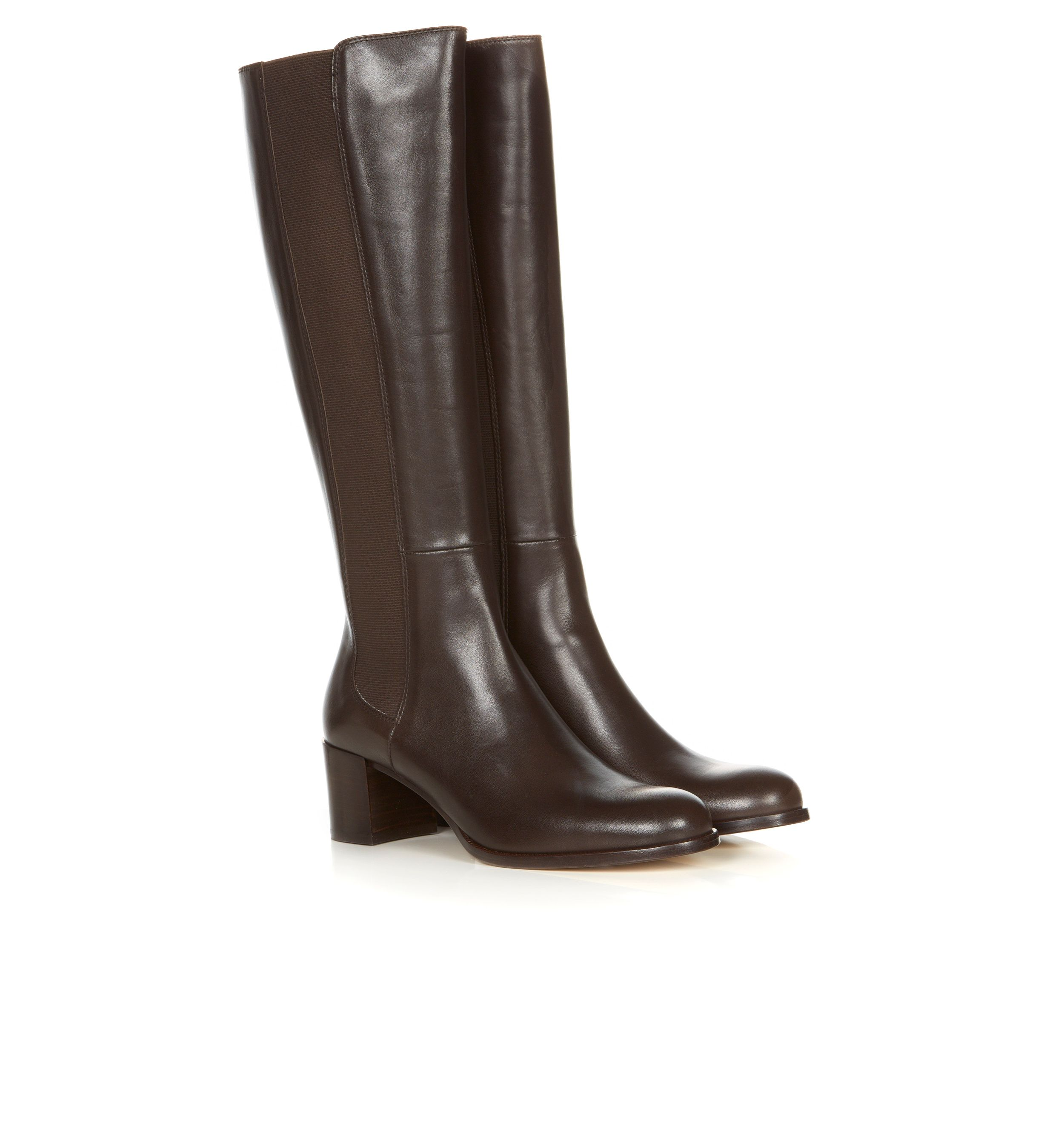 hobbs boots in brown chocolate lyst