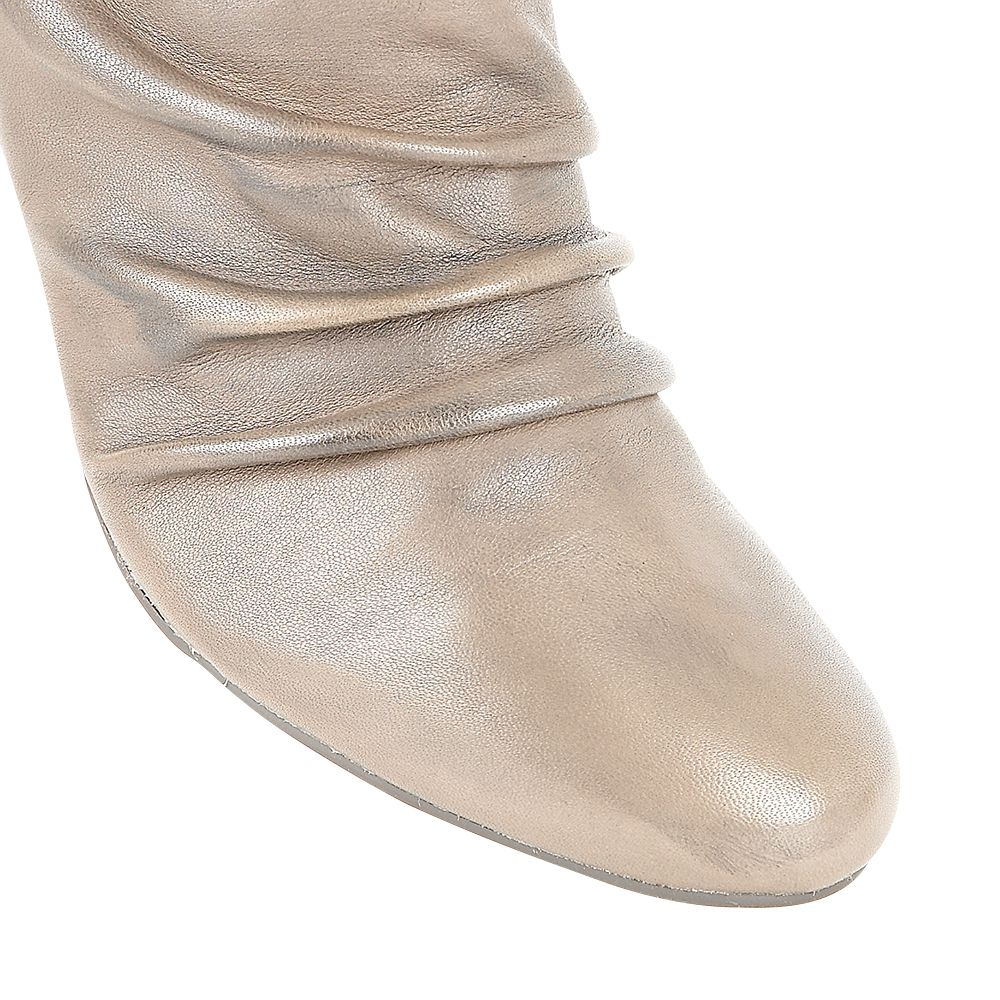 Lotus Elora Casual Boots in Khaki (Natural)