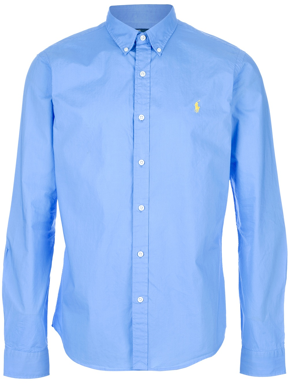 Lyst - Polo ralph lauren Button Down Shirt in Blue for Men