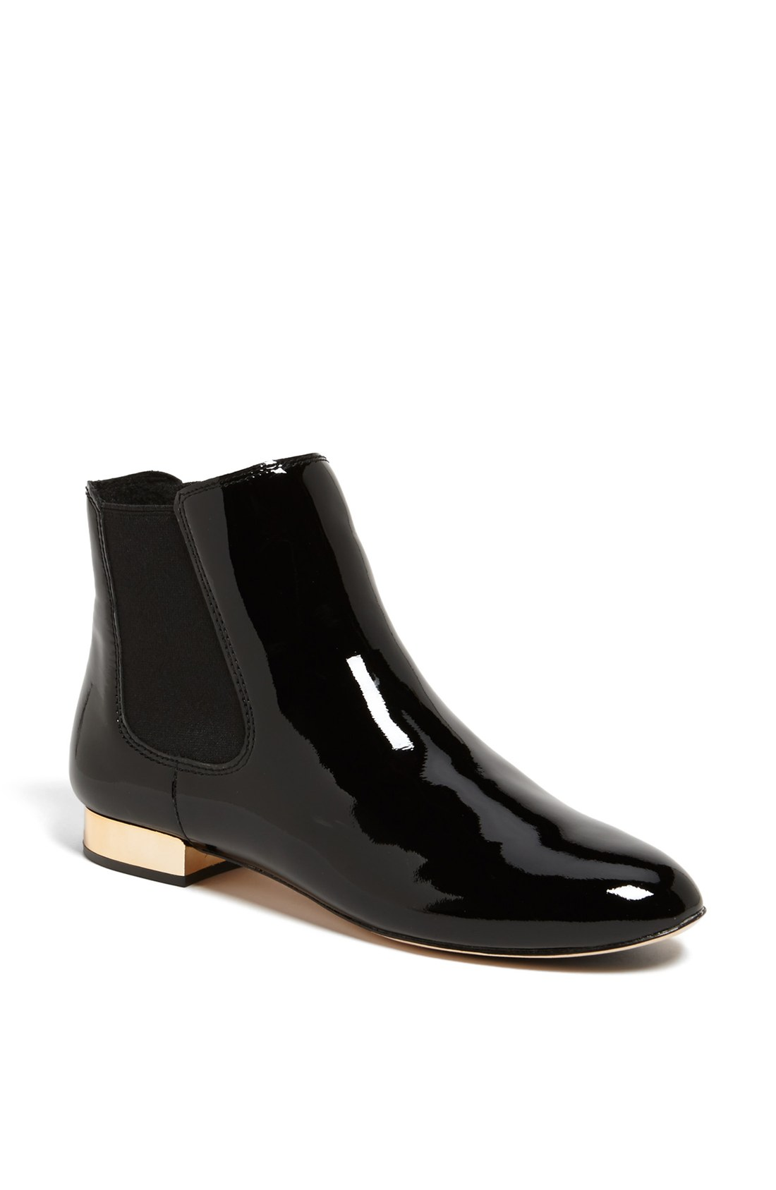 vc signature himena patent leather chelsea boot in black
