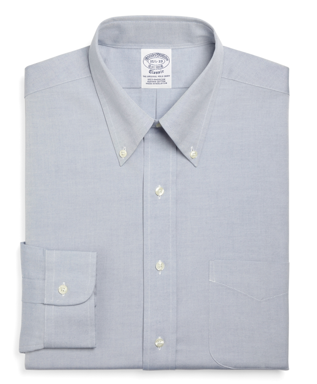 Lyst Brooks Brothers Traditional Fit Button Down Collar