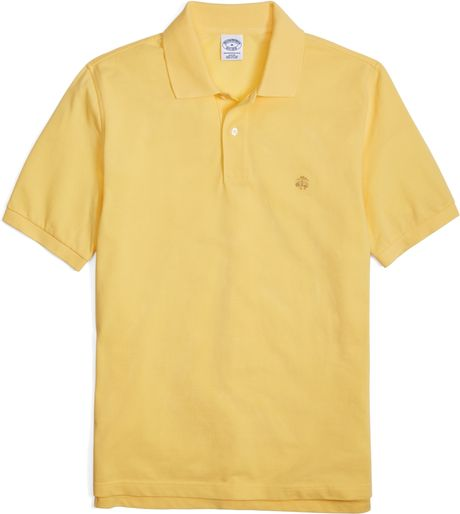 Brooks Brothers Golden Fleece Slim Fit Cotton Pique Polo in Green for    Brooks Brothers Polo