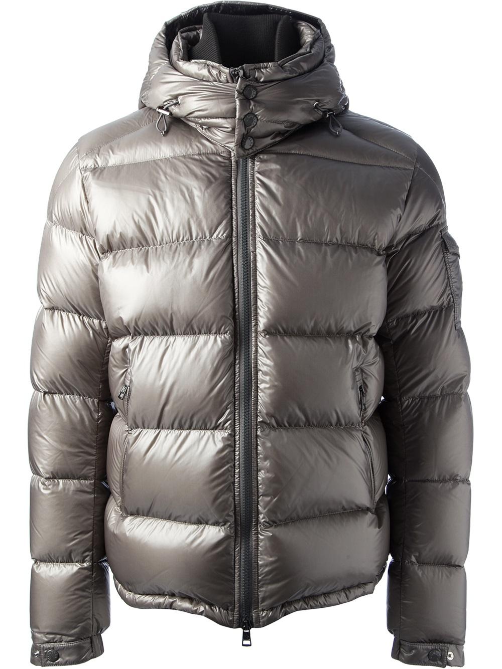 cdf600e8f Moncler Gray Zin Coat for men