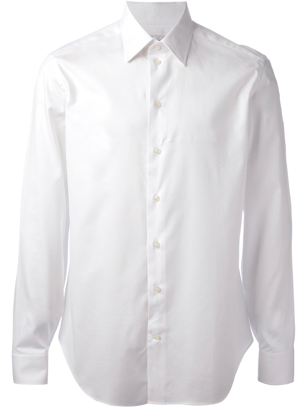 Lyst Armani Collared Shirt In White For Men