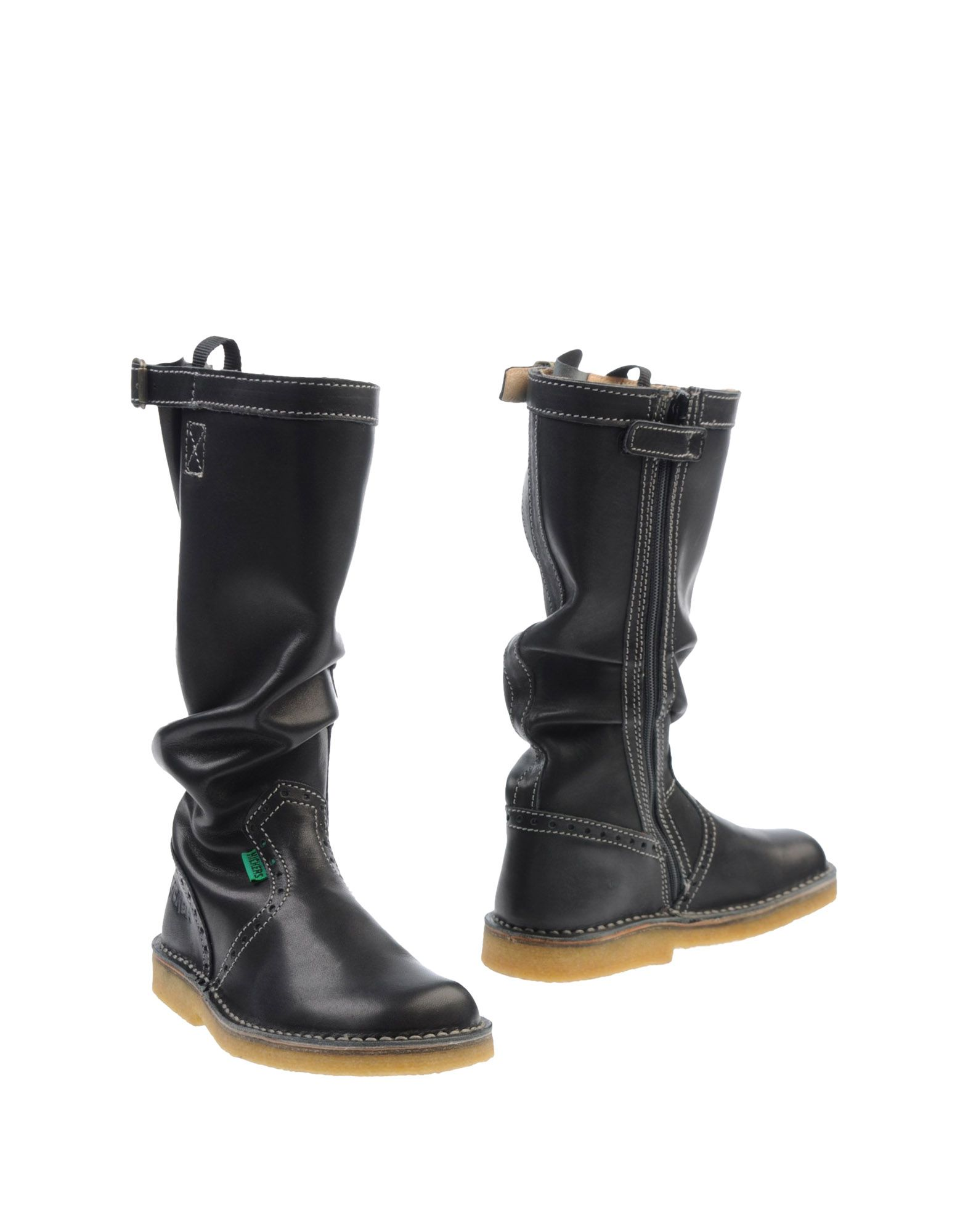 kickers boots in black lyst