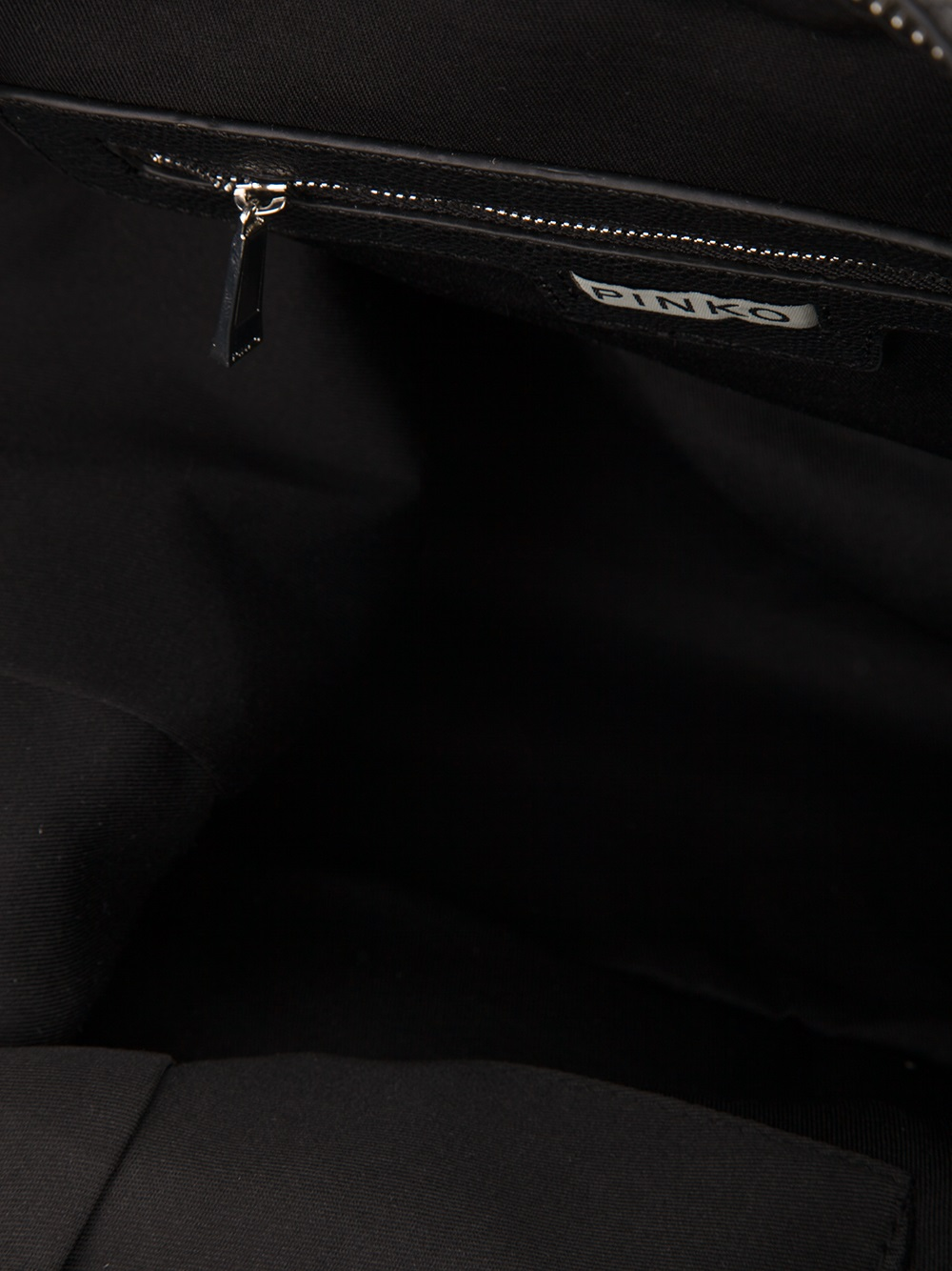 Pinko Tamburo Tote in Black