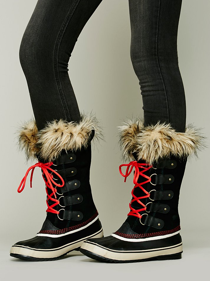 Sorel Joan Of Arctic Boot In Red Lyst
