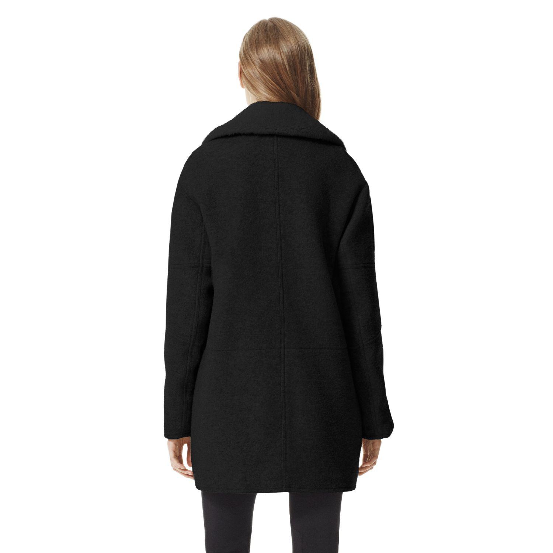 Theory Datyah K Coat in Amazing Wool Blend in Black