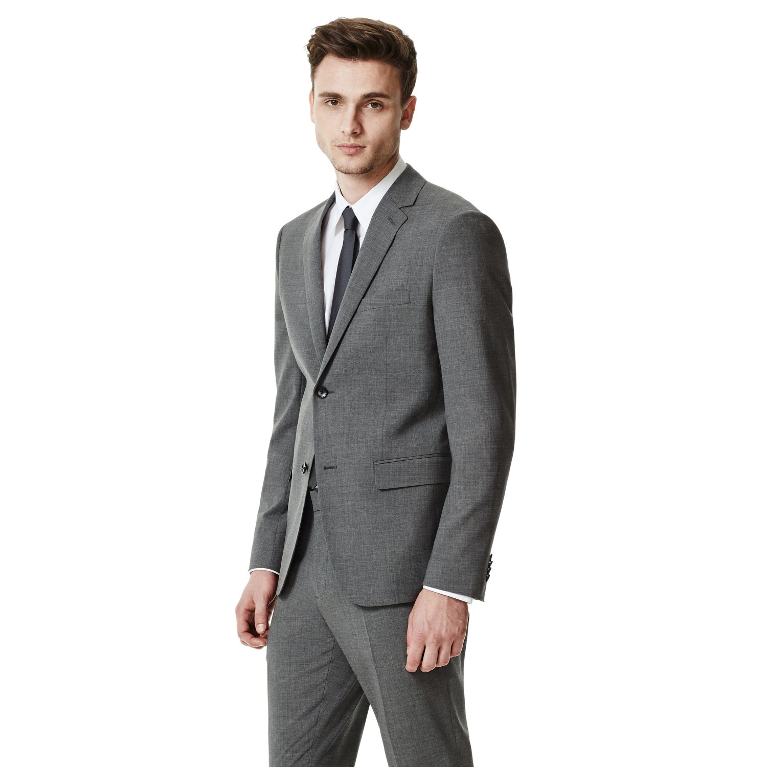 ef799ff105fc Lyst - Theory Wellar Hc Suit Jacket In New Tailor in Gray for Men