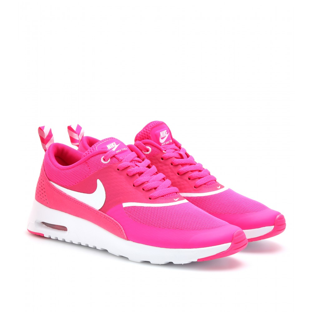 Lyst Max Nike Air Max Lyst Thea Zapatillas En Color Rosa 349d58