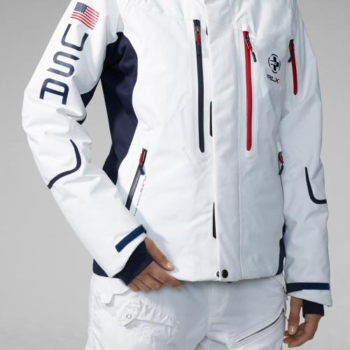 4be829b8483 Vail Jacket Ralph Lauren Lyst Rlx White Blue In Ski xpgTAPqw