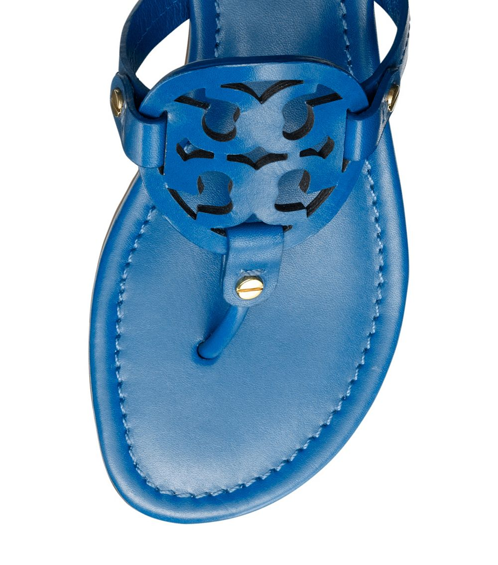 e792f9647df65b Lyst - Tory Burch Miller Sandal in Blue