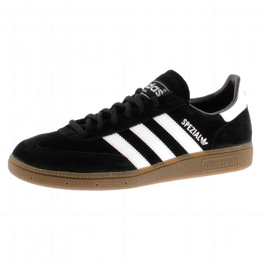 adidas originals handball spezial trainers in black for. Black Bedroom Furniture Sets. Home Design Ideas