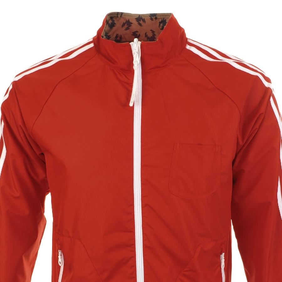 adidas Originals Reversible Track Jacket Vivid in Red for Men