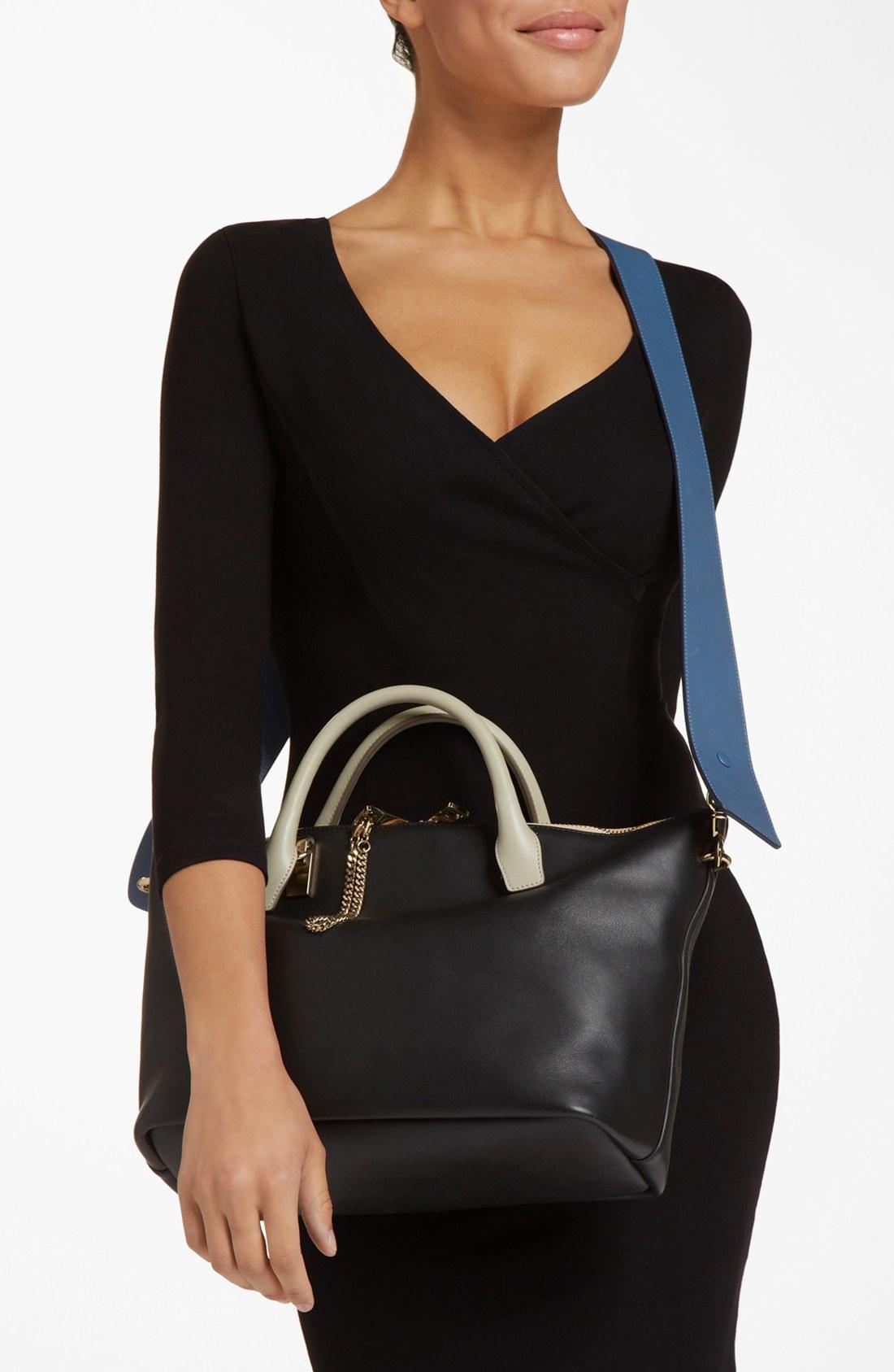 chloe bags online - Chlo�� \u0026#39;Baylee - Medium\u0026#39; Shoulder Bag in White (Marshmallow Grey ...