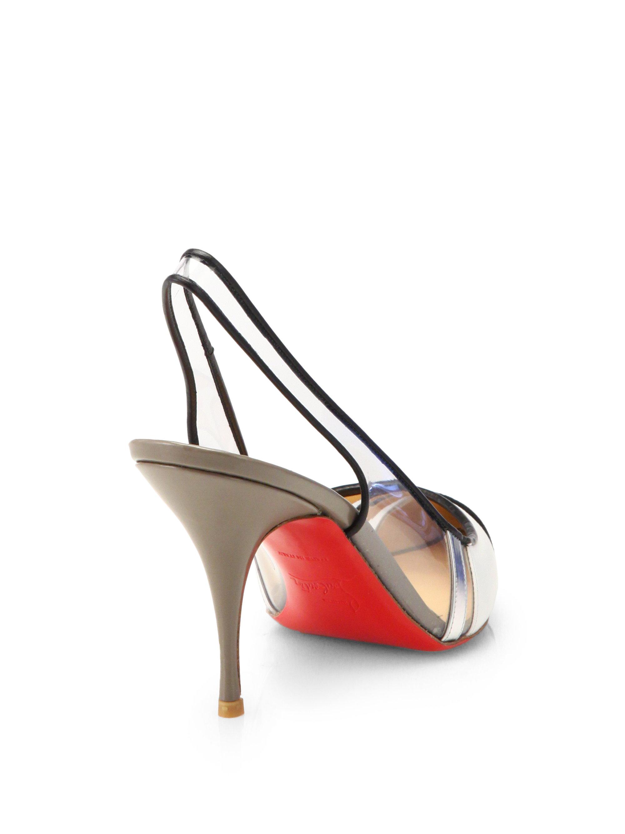 replica louboutin shoes - christian louboutin bianca studded leather platform pumps ...
