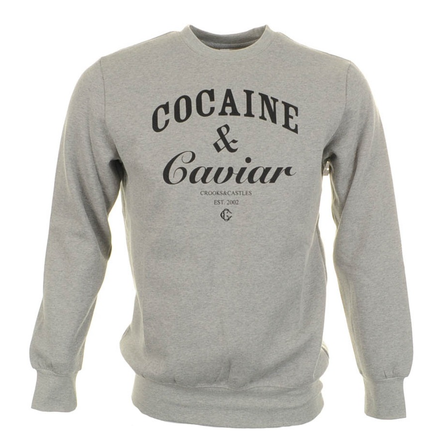 Gray For And Jumper In Castles Men Lyst Crooks Cocaine Caviar Y29WDHeEI