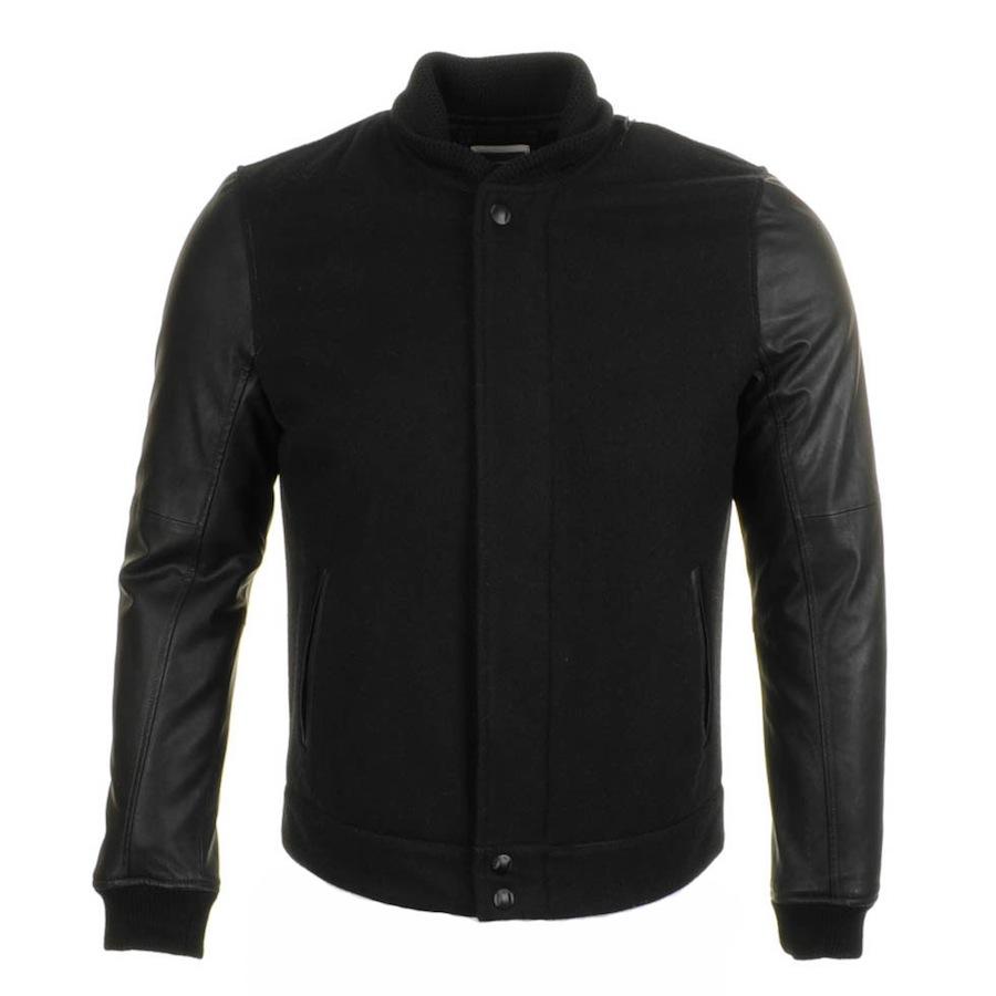 913b45ee3 G-Star RAW Black Thor Wool Bomber Jacket for men