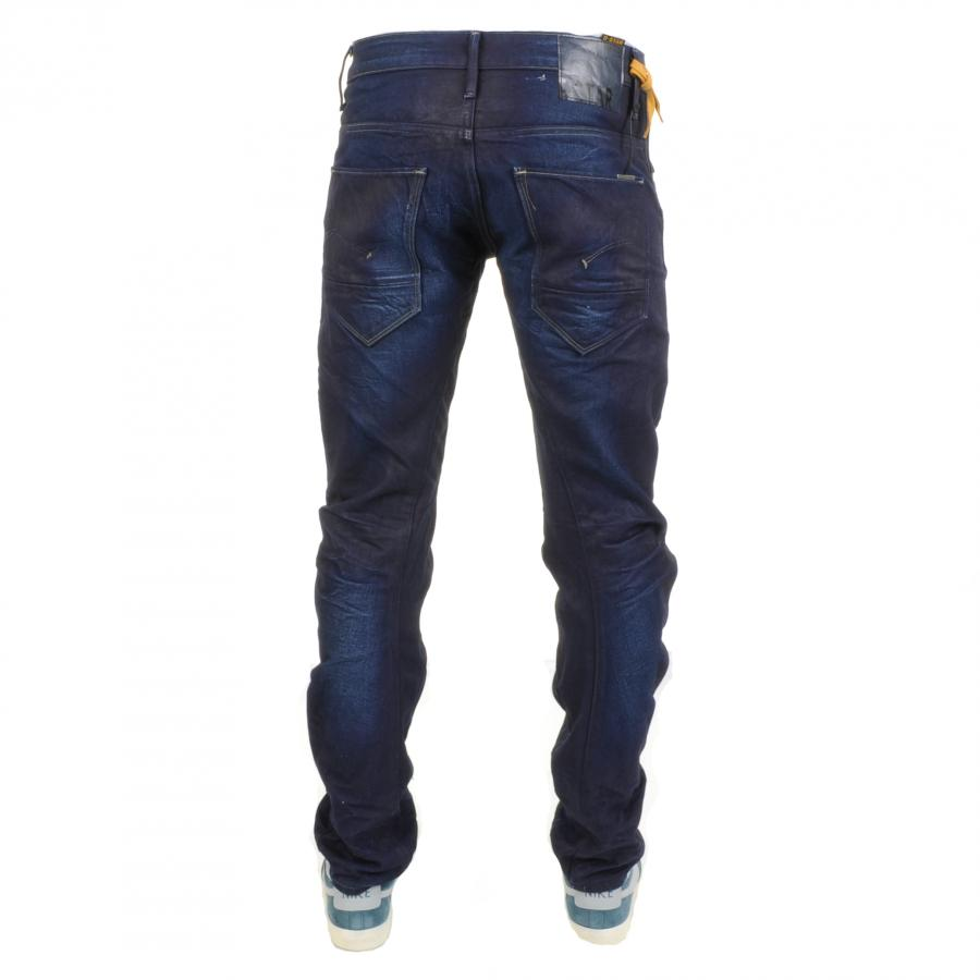 g star raw arc 3d slim jeans upcycle denim in blue for men. Black Bedroom Furniture Sets. Home Design Ideas