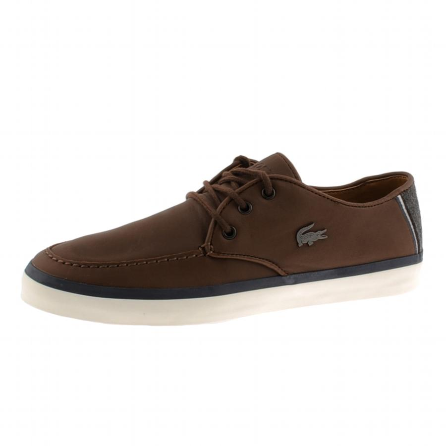 Nike Dark Brown Leather Shoes