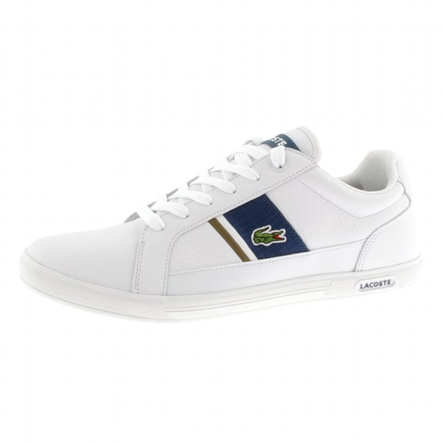 ea3c1ab3b Lyst - Lacoste Europa Trainers in White for Men