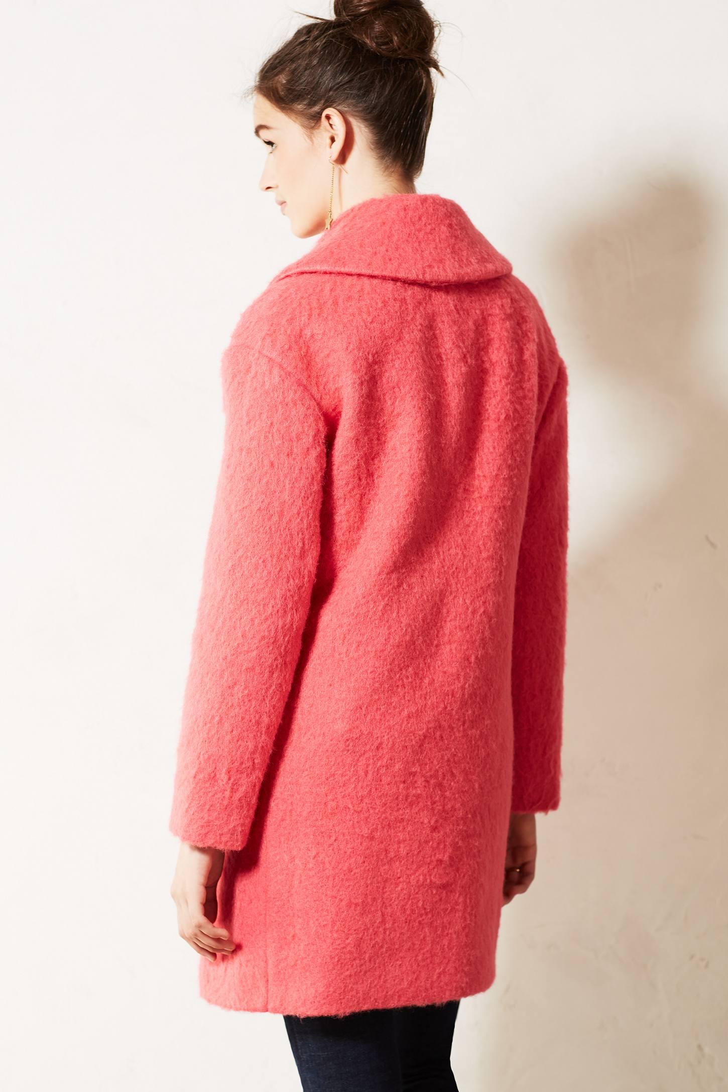 Leifsdottir Inessa Swing Coat in Pink   Lyst