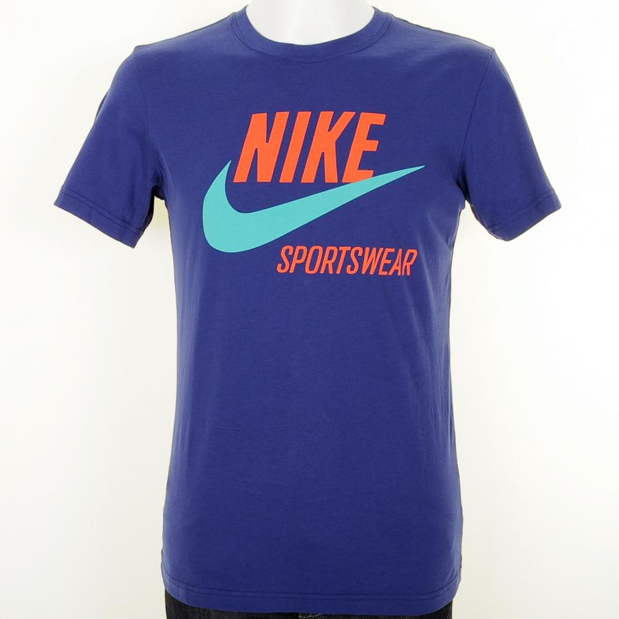 Lyst - Nike Tee T Shirt in Blue for Men