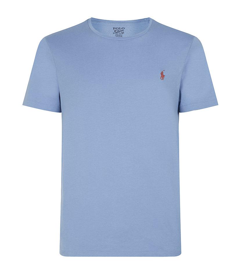 Polo Ralph Lauren Short Sleeve Tshirt In Blue For Men