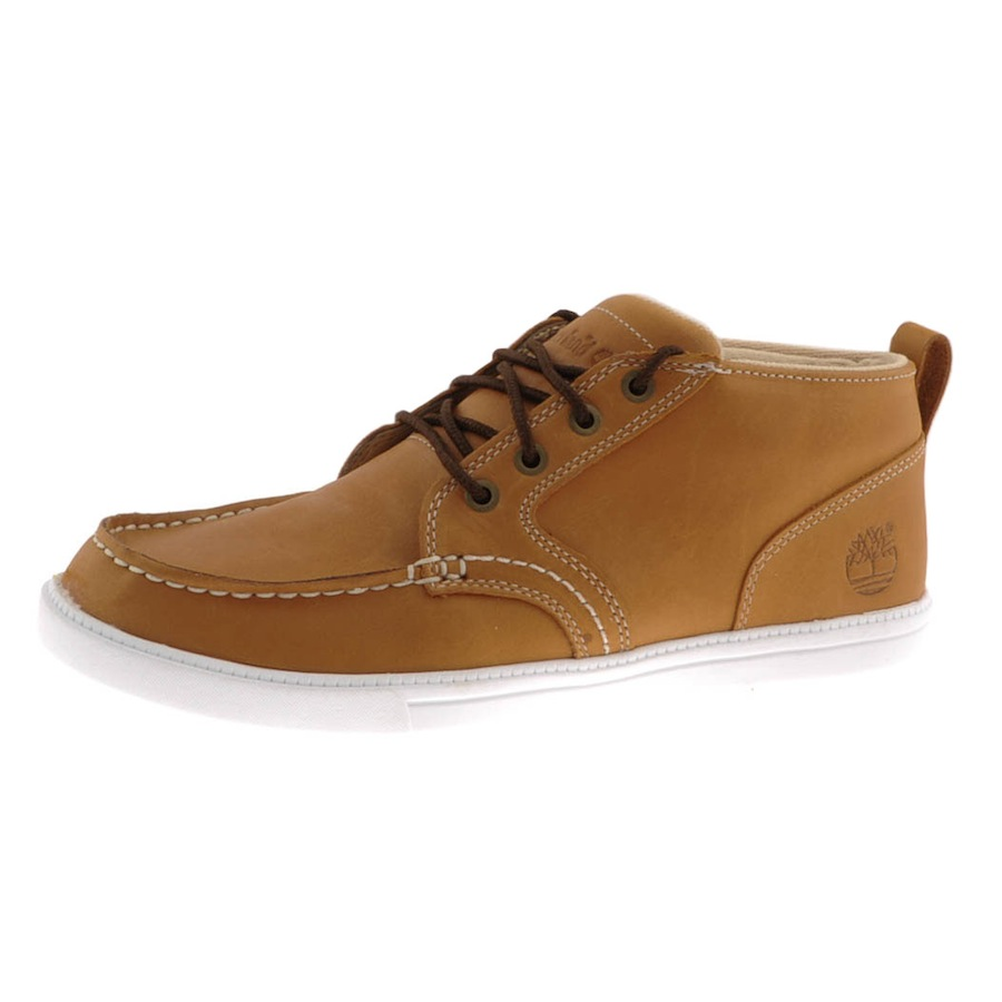 timberland ek newmarket chukka boots in brown for lyst