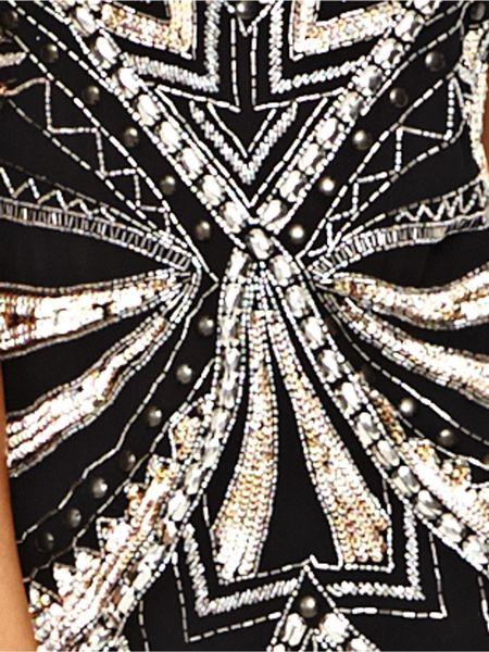 Black Sequin Top Sequin Cami Top in Black
