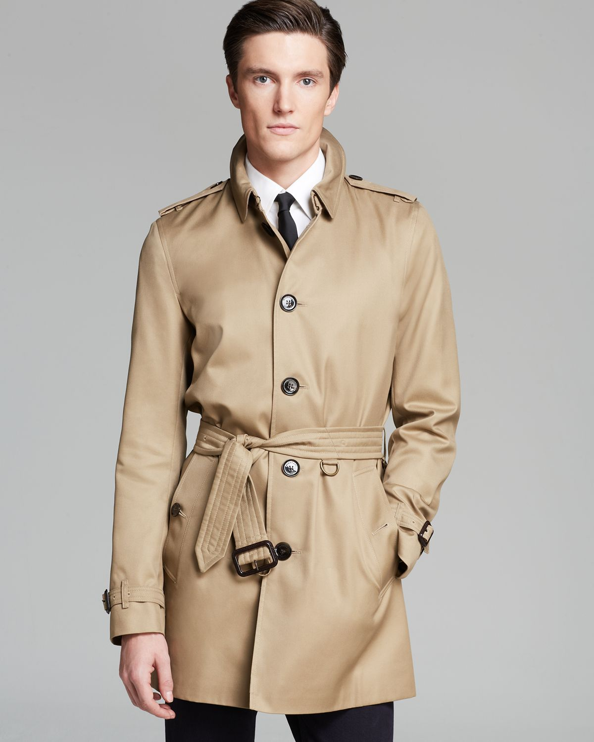 f00b1524180e Lyst - Burberry London Britton Trench in Brown for Men