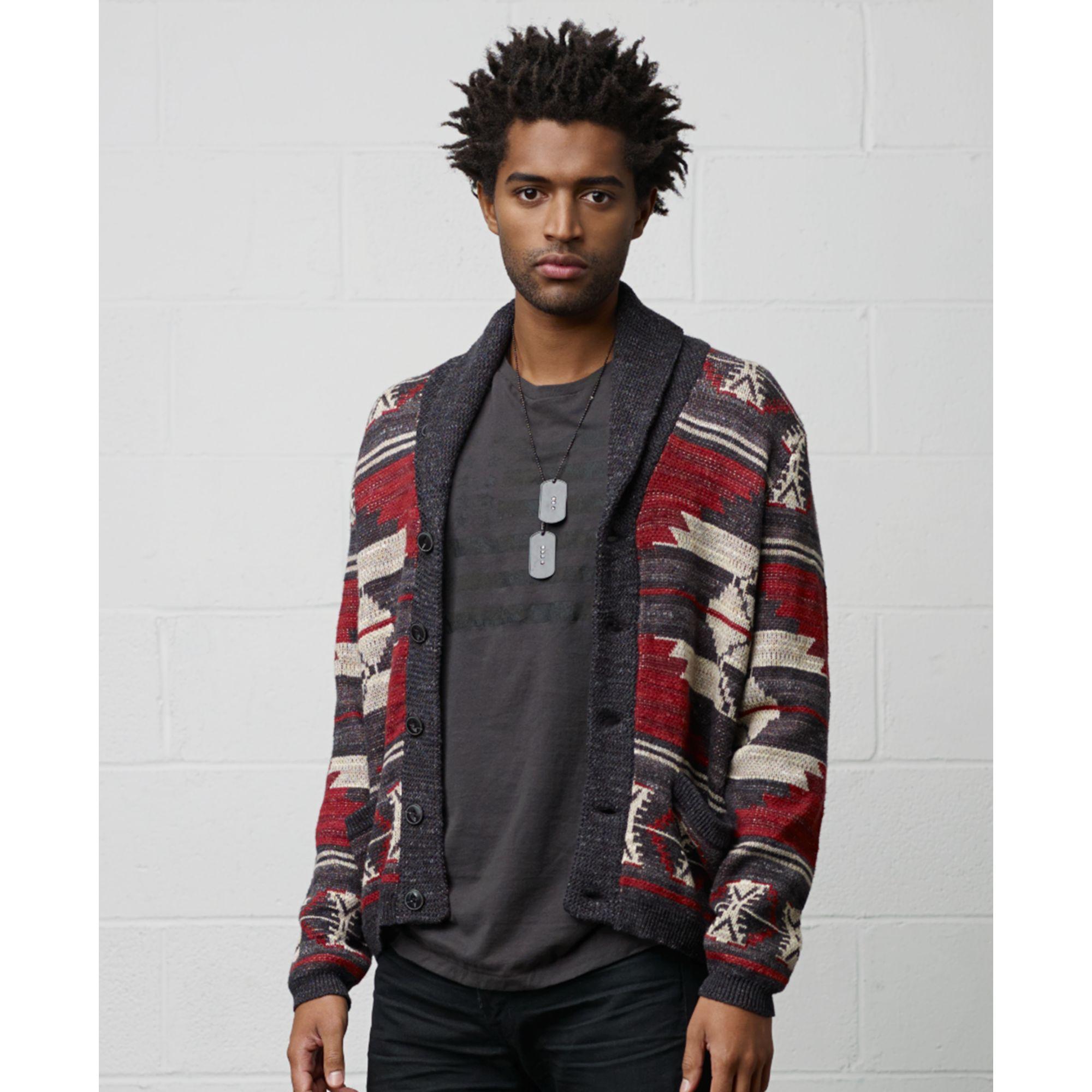 resumen Bermad visto ropa  Denim & Supply Ralph Lauren Southwestern Shawl Collar Cardigan in Red for  Men - Lyst