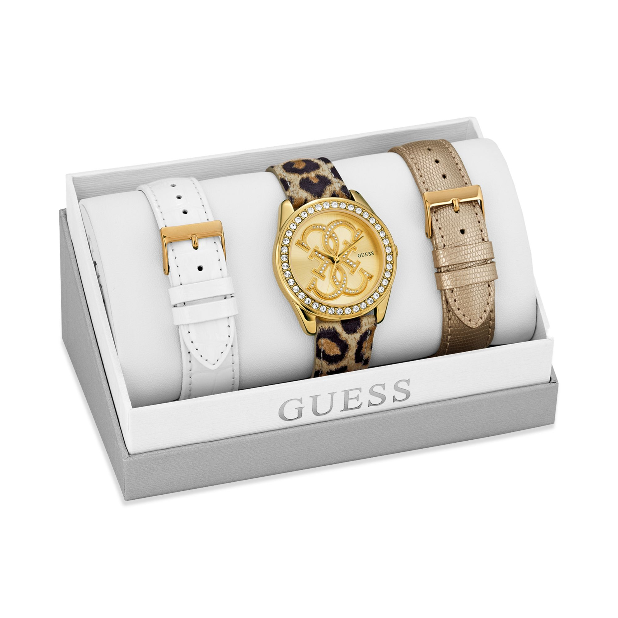 guess watches factory outlet xja8  guess watches ladies leather strap
