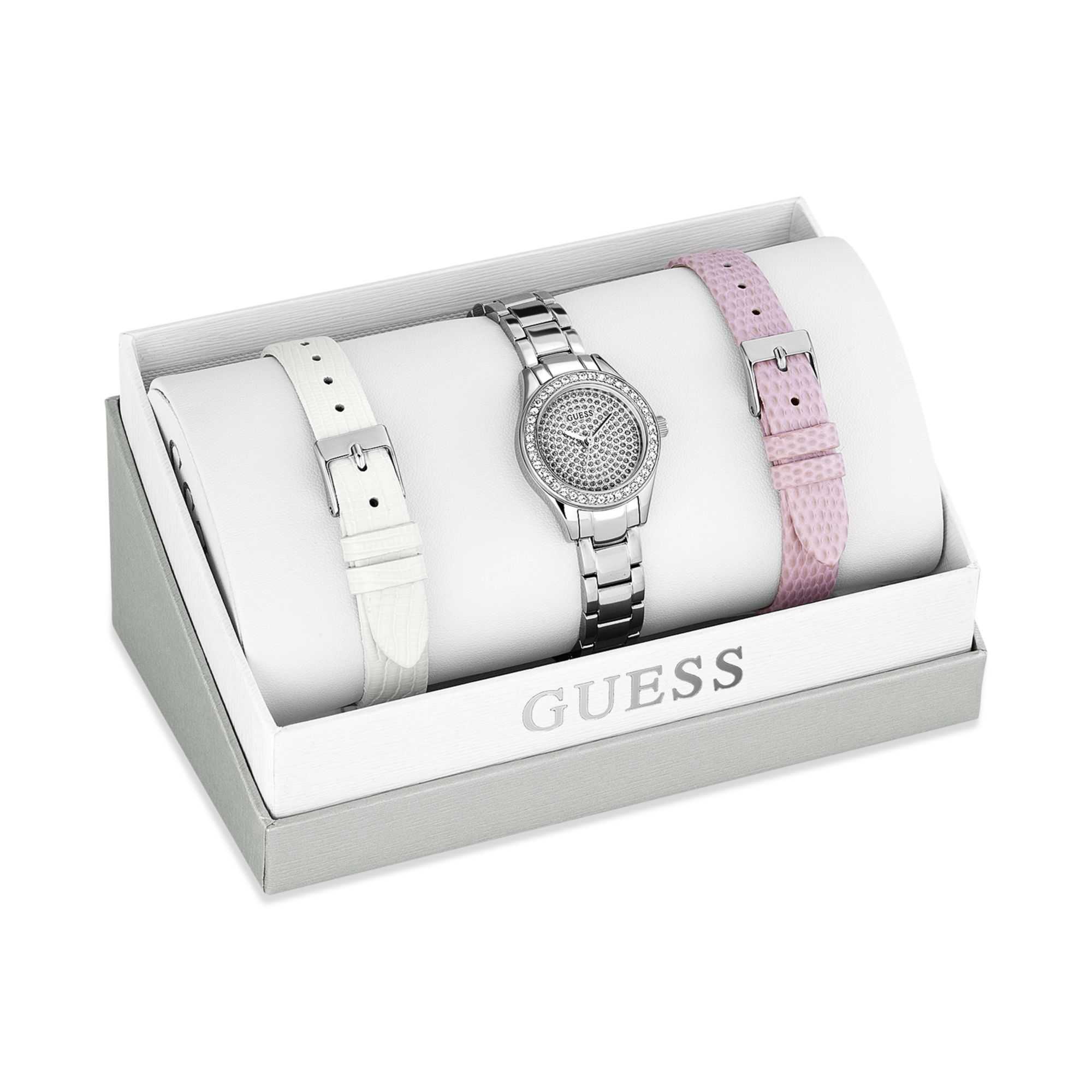 how to set the day on a guess watch