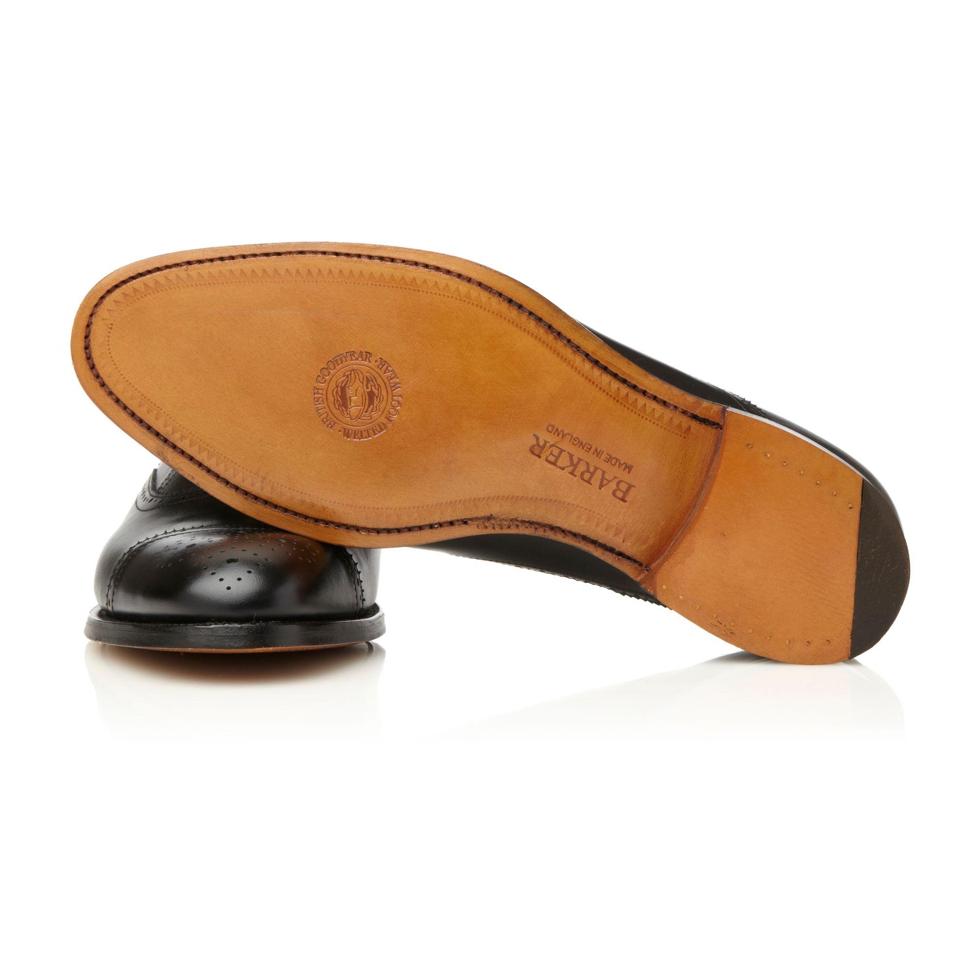 Barker Arnold G Leather Shoes in Black for Men