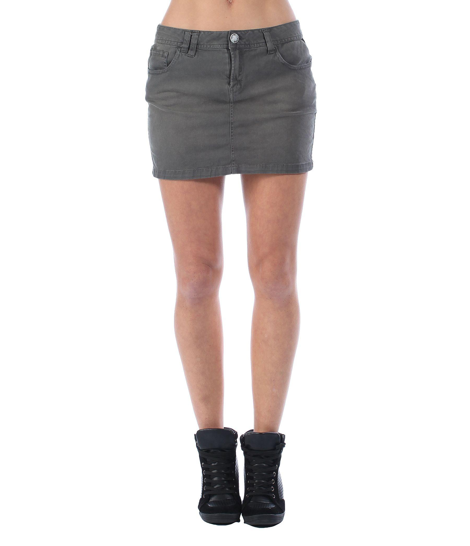 bench garsdale skirt in gray lyst
