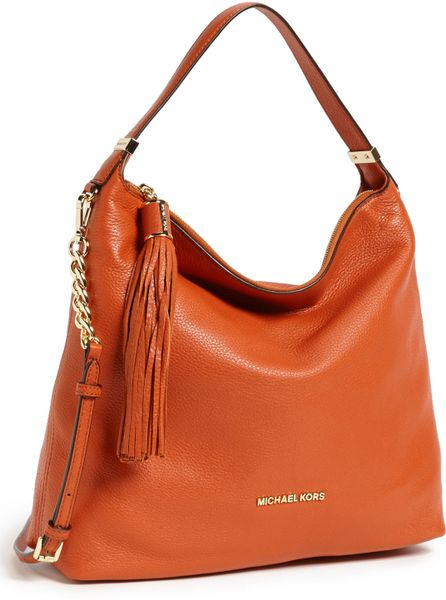 Michael Kors Orange Shoulder Bag 38
