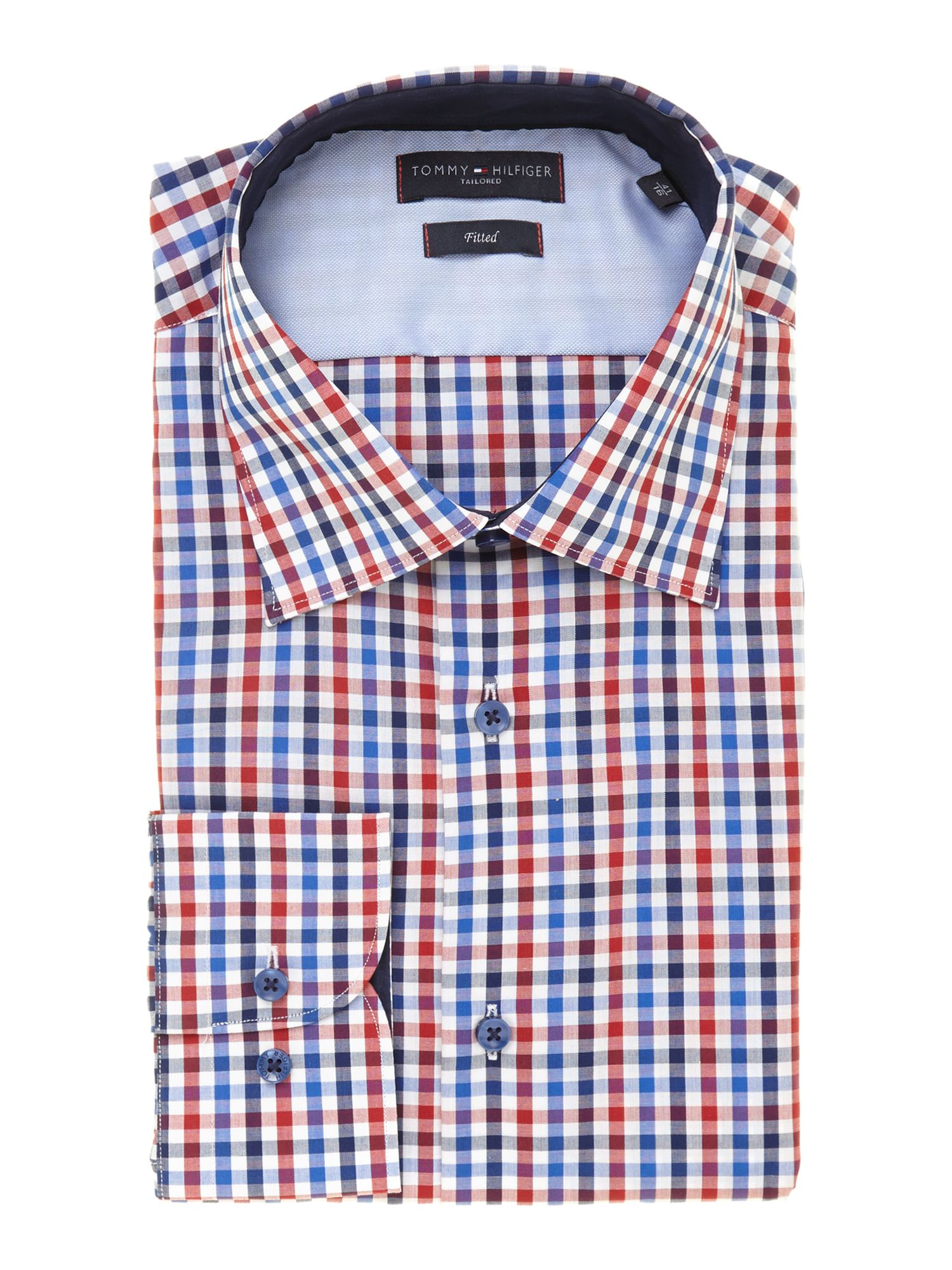 This is a lovely shirt that has washed without the usual flannel problem of becoming a wrinkly mess. The checked fabric is not 'lumberjack' thick, but is still soft and good quality, and the sleeves and hood are thick sweatshirt material.