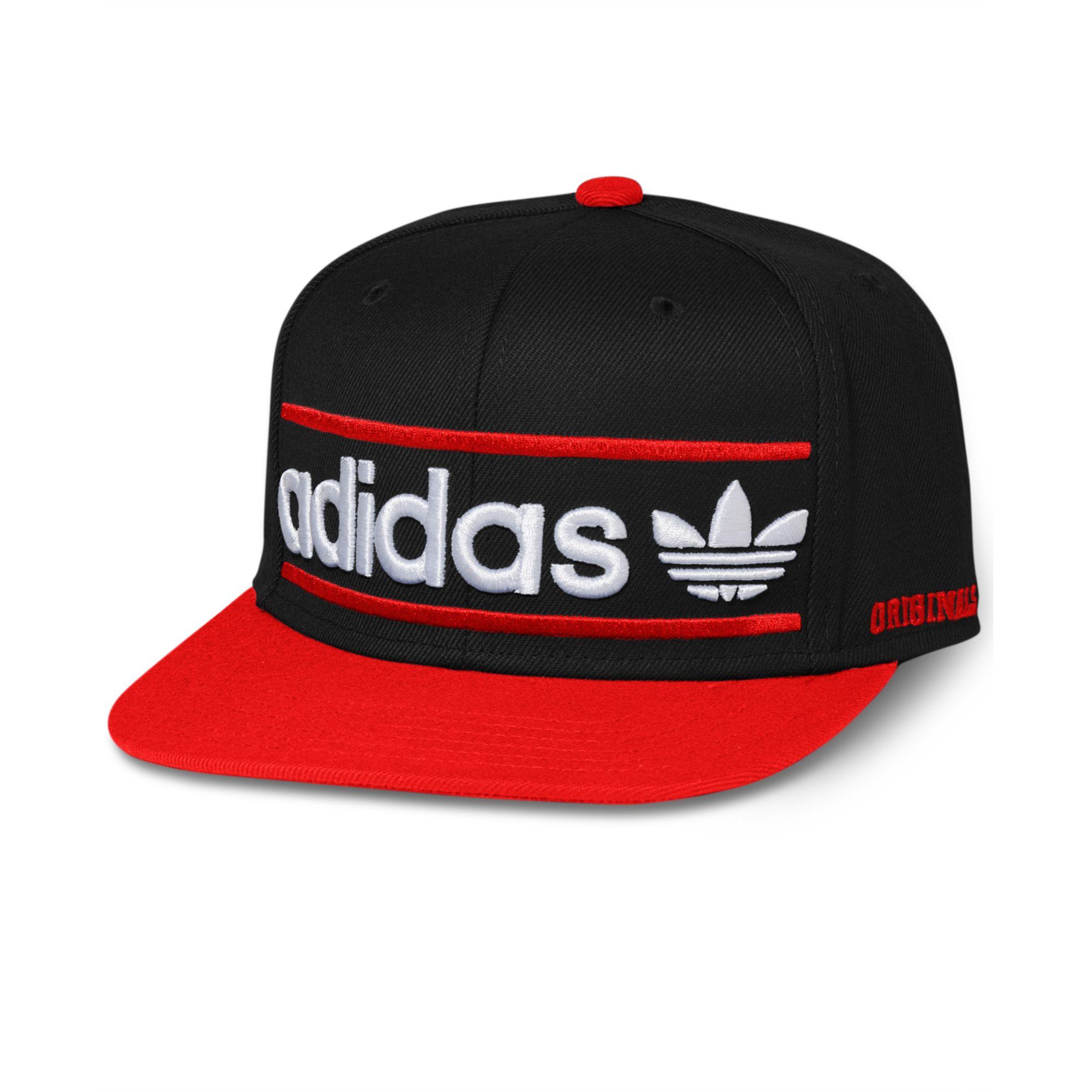 b8ba56bf85571 ... switzerland lyst adidas adi originals heritage snapback cap in black  for men 7916b 506eb