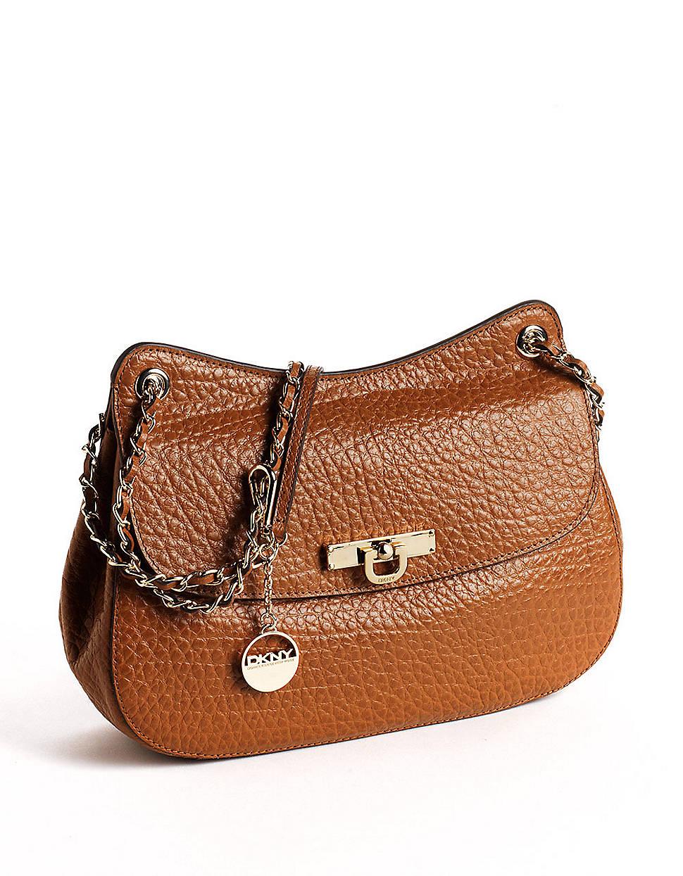 Dkny Beekman Top Zip Shoulder Bag Brown 97