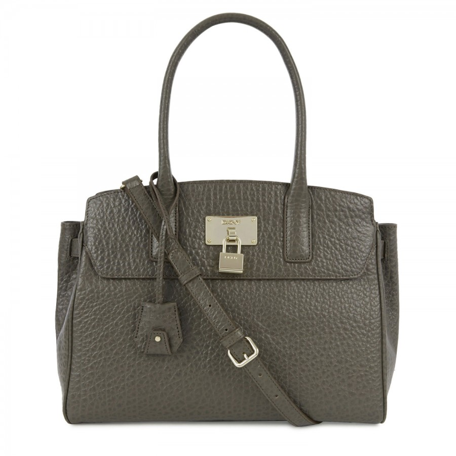 Dkny Pebbled Leather Shoulder Bag 73