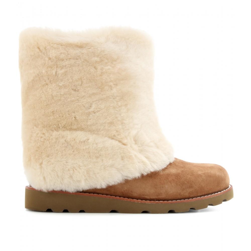 6bb0b55d5e2 UGG Natural Maylin Shearling Boots