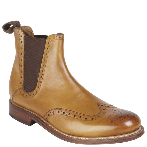 grenson s jacob chelsea boots in brown lyst