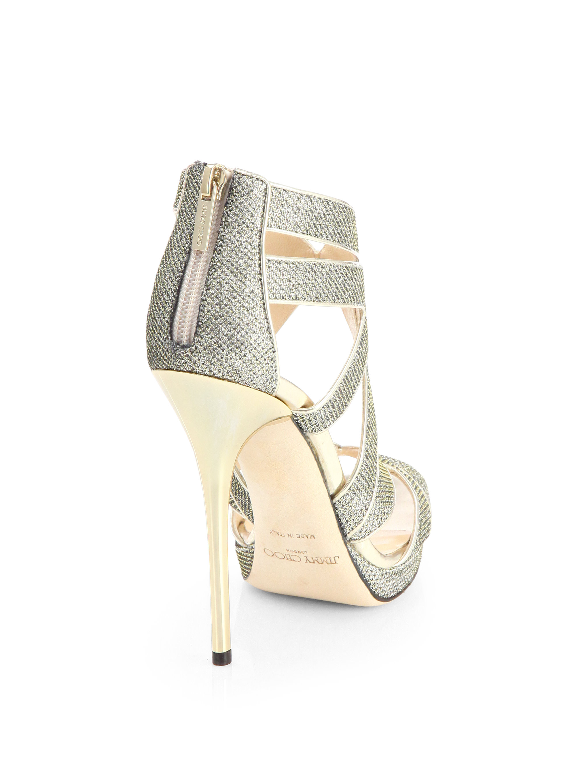 8f7bd149a6b Gallery. Previously sold at  Saks Fifth Avenue · Women s Jimmy Choo Glitter  ...