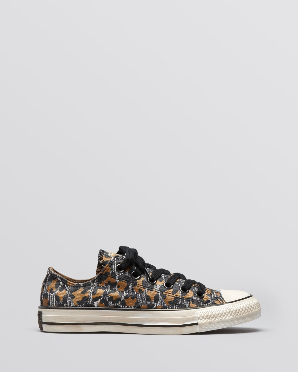 Trainers Converse Chuck Taylor All Star Snow Leopard Side Zip Textile Hi W Multicolor Front View
