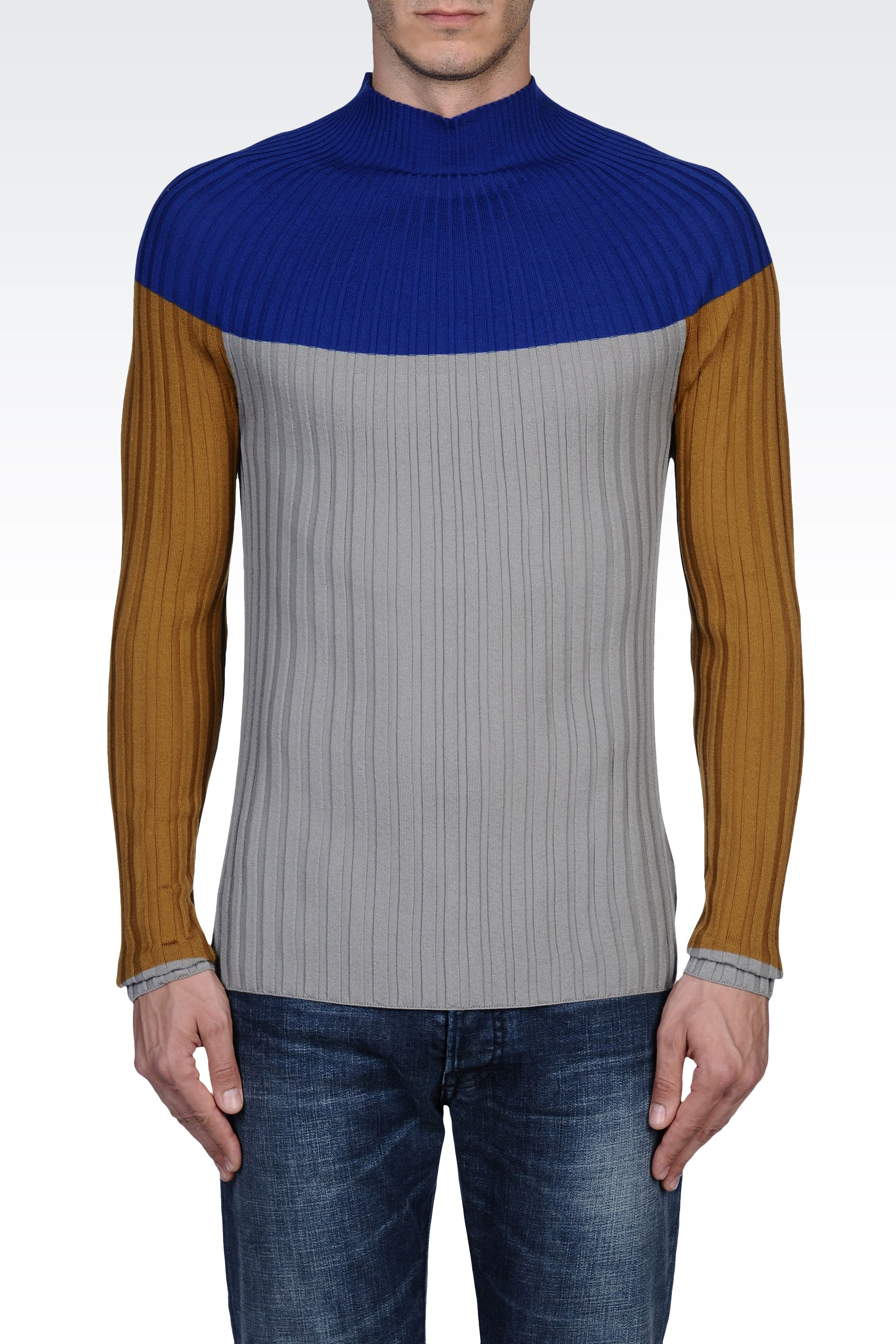 KNITWEAR - Jumpers Emporio Armani Sale With Mastercard Clearance Shop Cheap Sale Best Place Low Cost Cheap Price Comfortable For Sale tdMy4