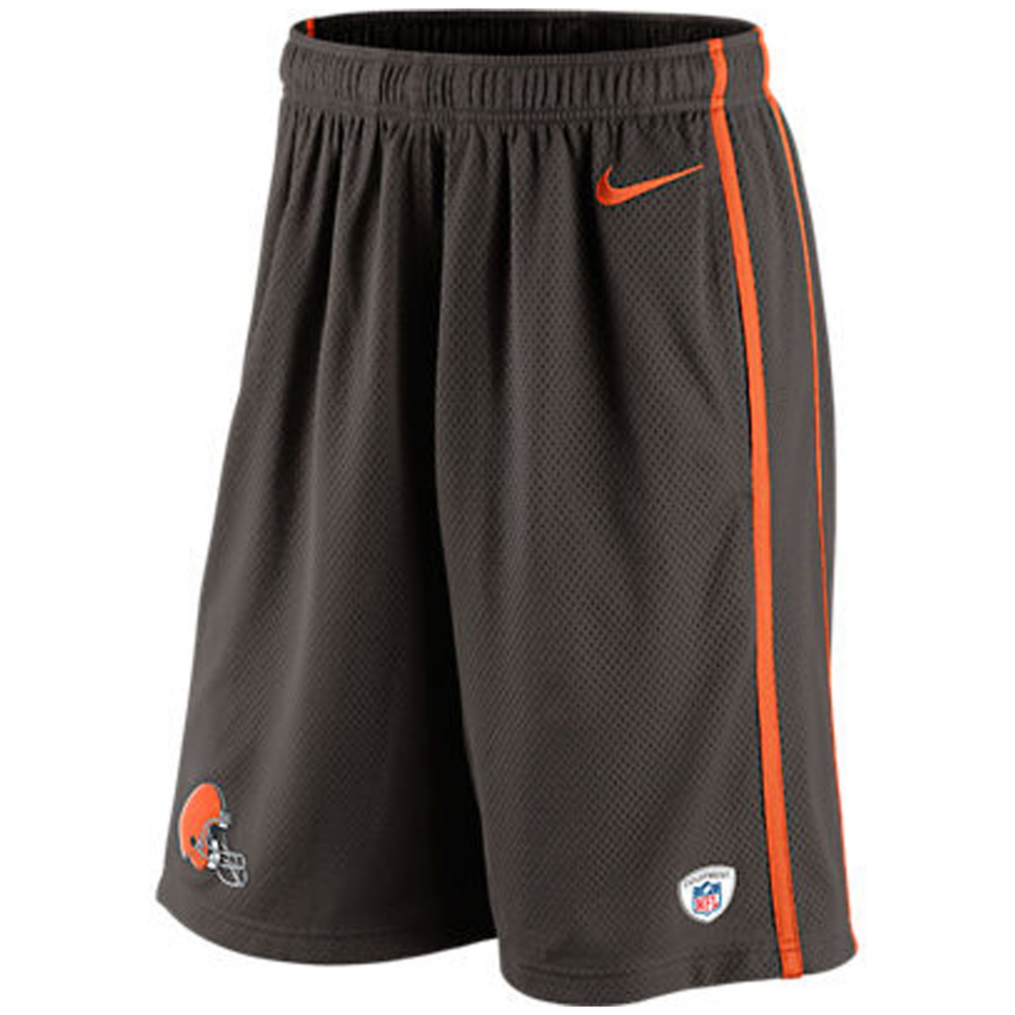 nike shorts casual shorts in brown for men lyst